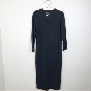 Zanoni by Jalate Long Sleeve Open Front Sweater